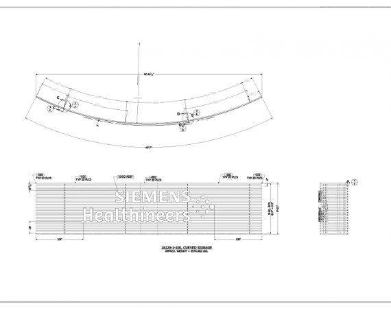 AE Technical Drawings - Siemens Sign