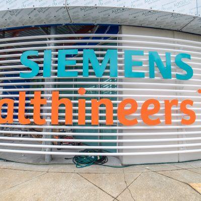 AE - Siemens Signage Fabrication