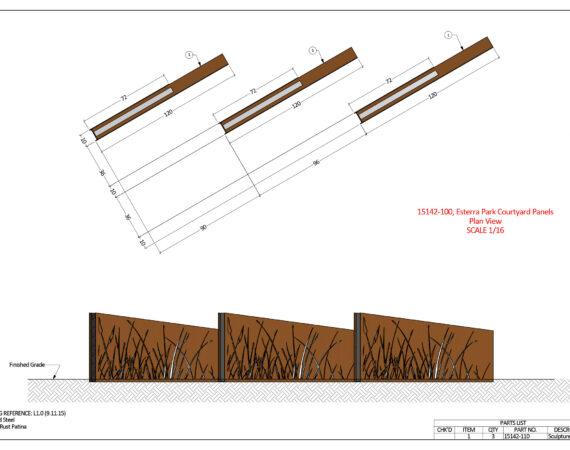 AE Technical Drawings - Esterra Park