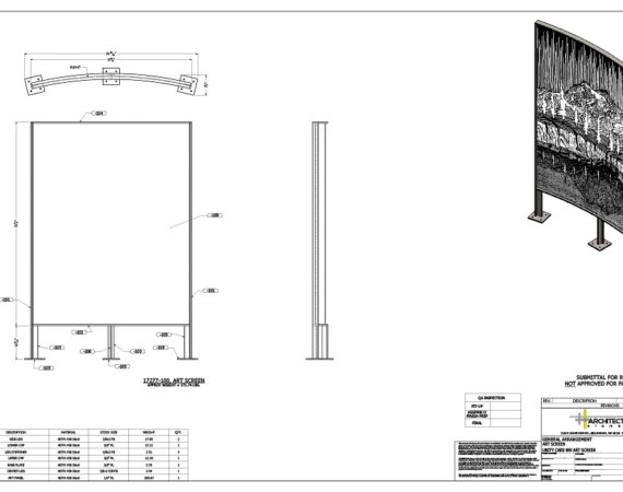 AE Technical Drawings - Unity Care NW